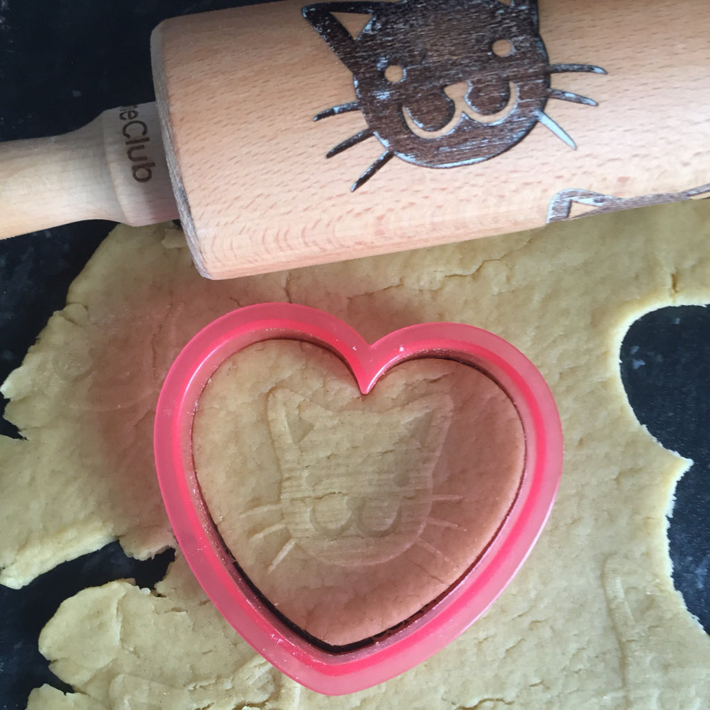 Cat Pattern Rolling Pin