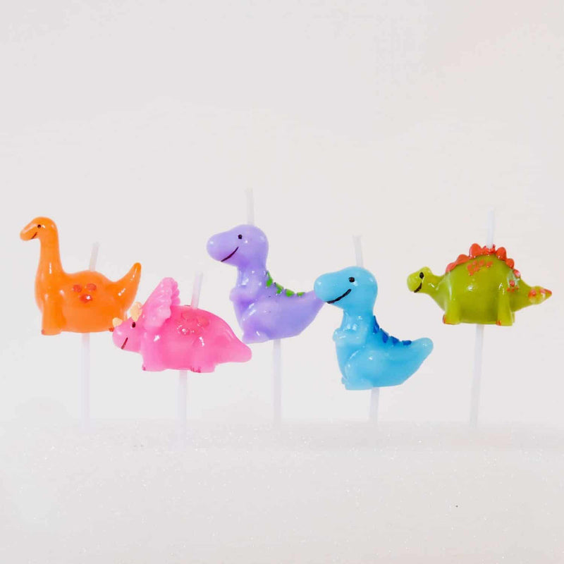 Dinosaur 3D Candles Set