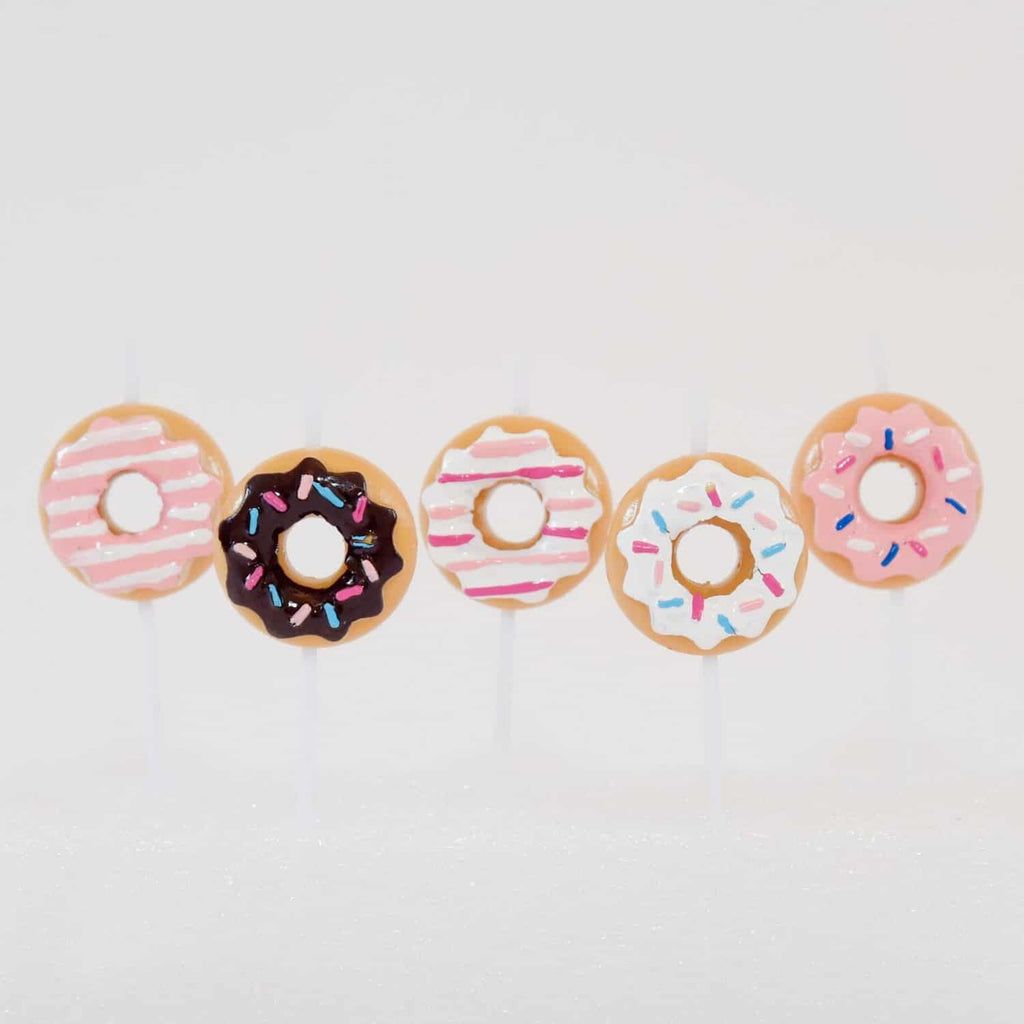 Doughnut 3D Candles Set