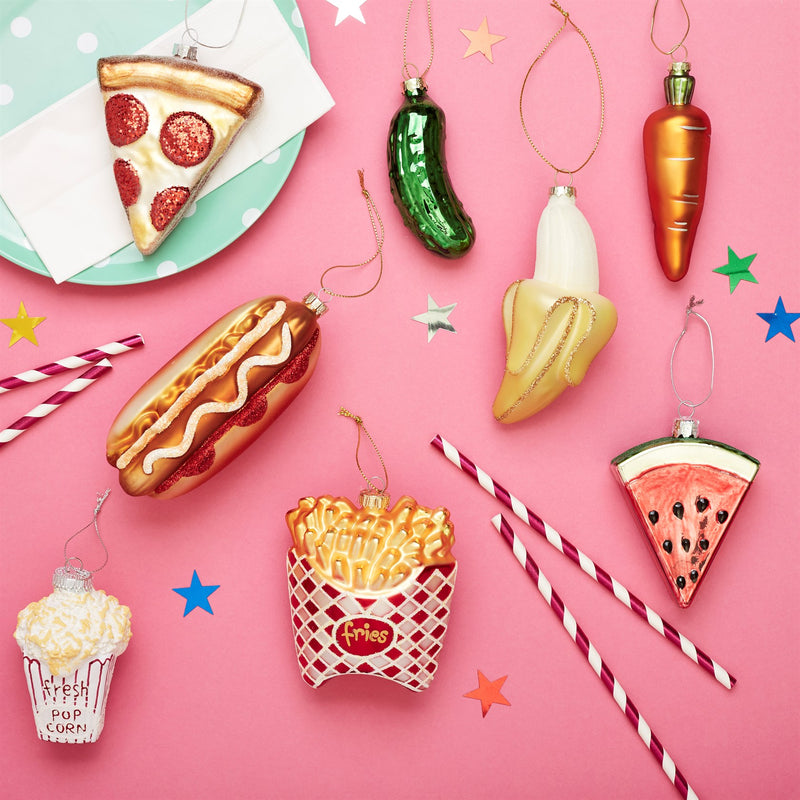 Hotdog Hanging Decoration Bauble