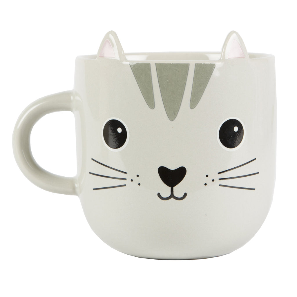 Kawaii Cat Mug with Ears
