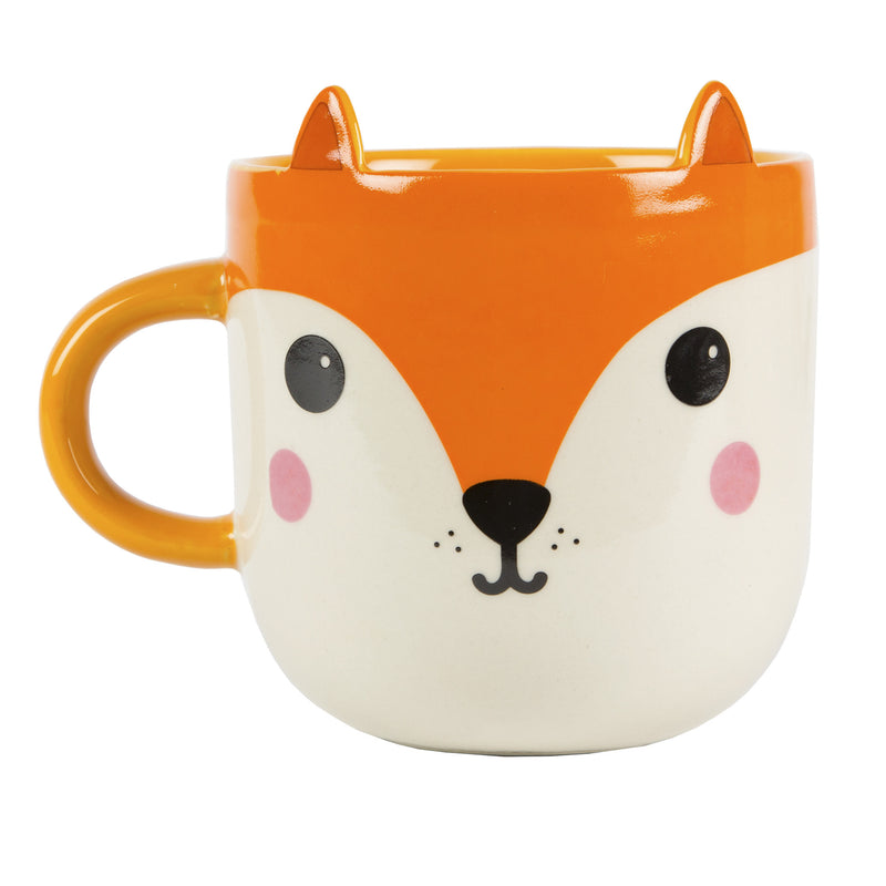 Kawaii Fox Mug with Ears