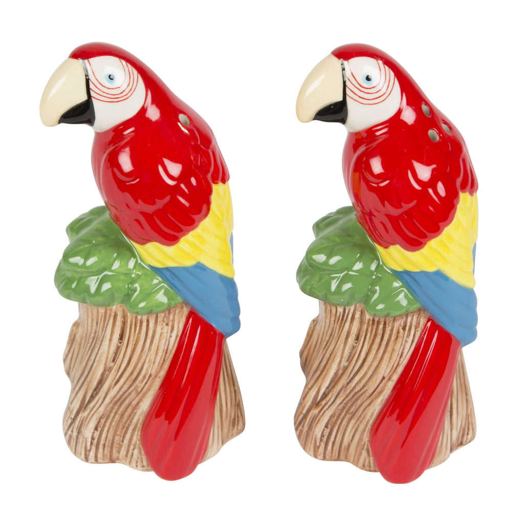 Parrot Salt and Pepper Shakers