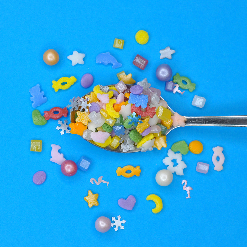 Bulk Bag - Pick n Mix Winter Edition Sprinkles (Best Before 04 Apr 2021)