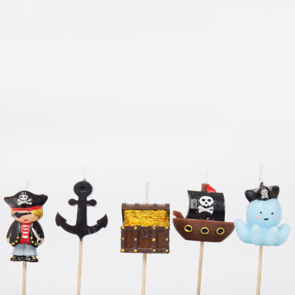 Pirate 3D Candle Set