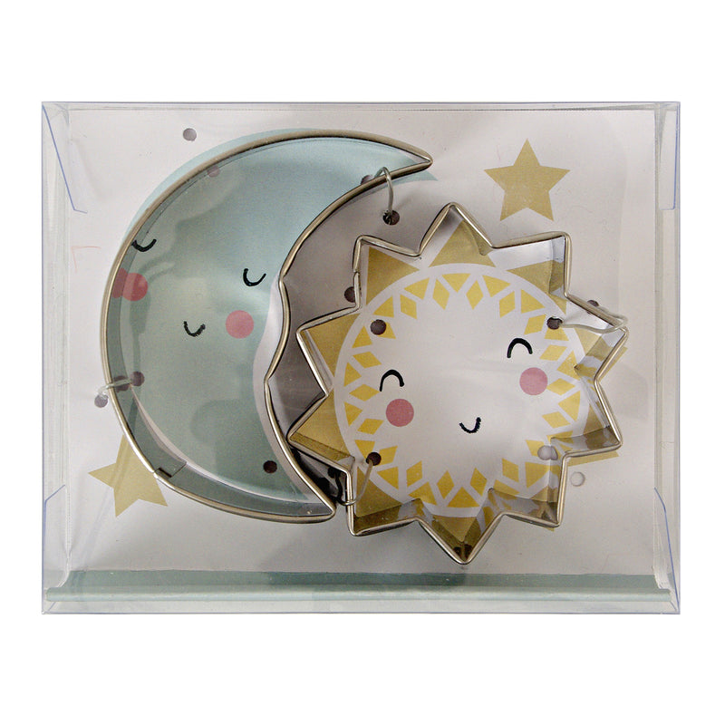 Sun and Moon Cookie Cutters