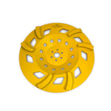 concrete polishing disc 250mm 6 segment 150 grit soft bond