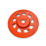 concrete grinder discs soft hard bond grits