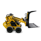 hydraulic grapple for mini loader