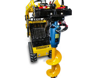 mini loader skid steer post hole digger