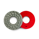 Paddock Round Resin Polishing Pads 250mm 100 Grit