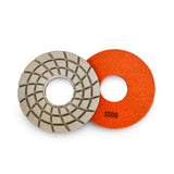 Paddock Round Resin Polishing Pads 175mm 1500 Grit