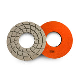 Paddock Round Resin Polishing Pads 250mm 1500 Grit