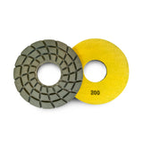 Paddock Round Resin Polishing Pads 175mm 200 Grit