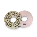 Paddock Round Resin Polishing Pads 175mm 3000 Grit