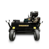 Tow behind self propelled mower slasher