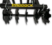 disc harrow for four wheel motorcycle