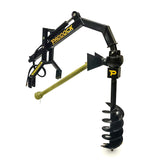 hydraulic post hole digger for tractor