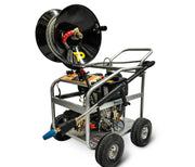 diesel pressure washer with hose reel