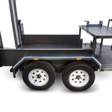 equipment trailer dual axle