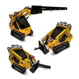 mini loader attachments lifting jib