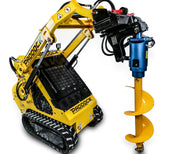 post hole digger for paddock mini loader dingo toro