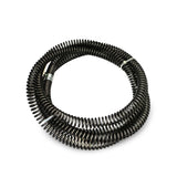 drain cleaner cable extensions for section sewer snakes