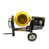 concrete cement mixer honda petrol engine