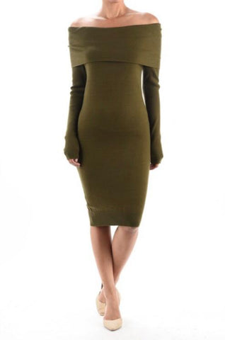 Z11190160 SWEATER DRESS