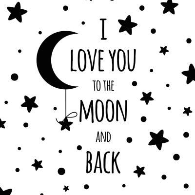 Special Print: I Love You to the Moon and Back