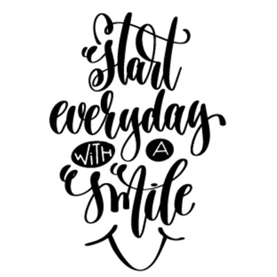 Special Print: Start Everyday with a Smile