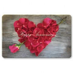 Keepsake Gift Cards Happy Anniversary