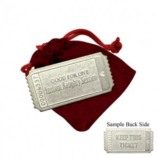 Instant Naughty Session Keepsake Ticket