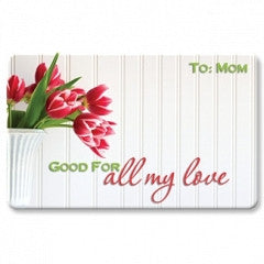 Keepsake Gift Cards All My Love for Mom