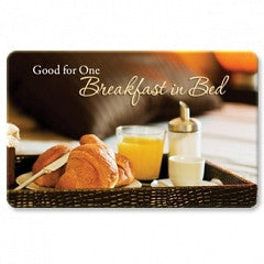 Keepsake Gift Cards Breakfast in Bed