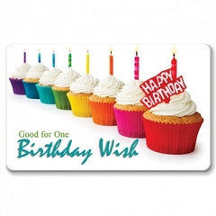 Keepsake Gift Cards Birthday Wish