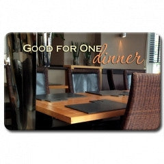 Keepsake Gift Cards Dinner