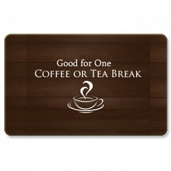 Keepsake Gift Cards Coffee or Tea Break