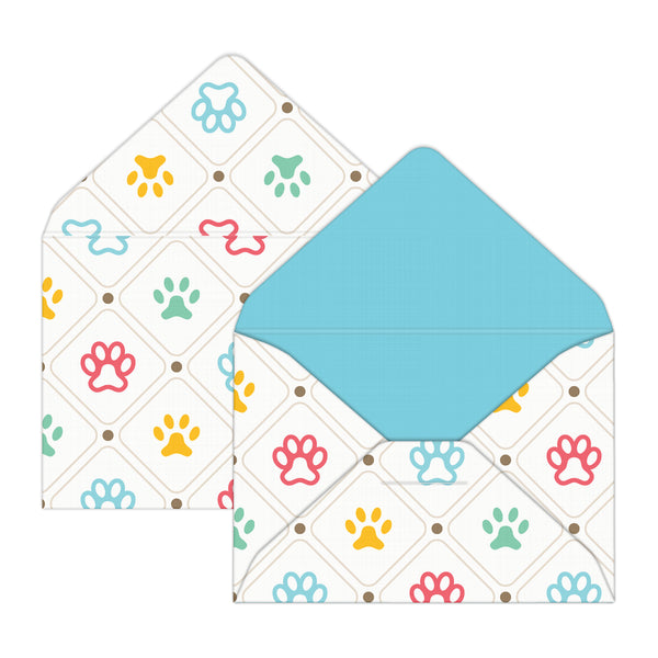 Animal Lover Mini Envelopes & Notes/Paper