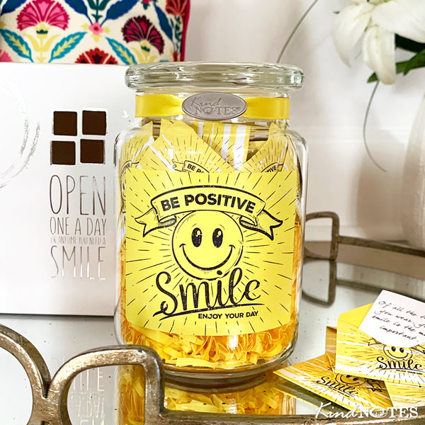 Be Positive Jar of Notes
