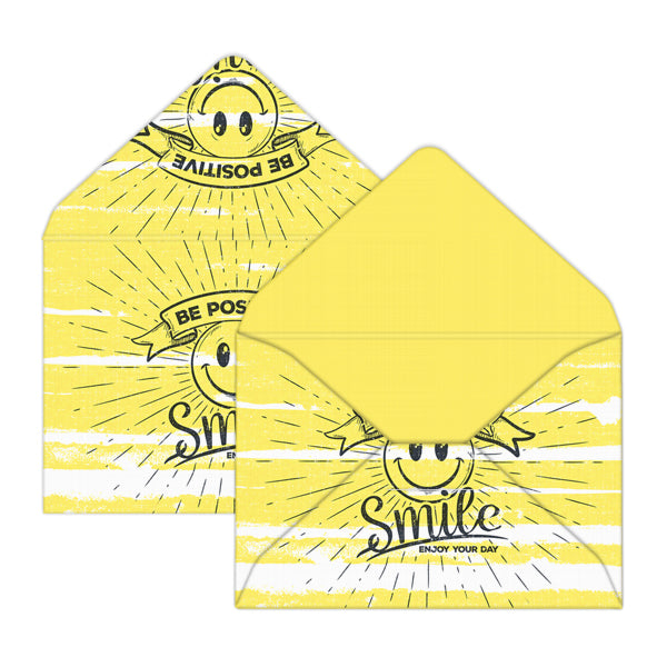 Be Positive Mini Envelopes & Notes/Paper