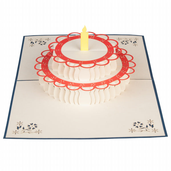 Birthday Treat Pop-Up 3D Greeting Card
