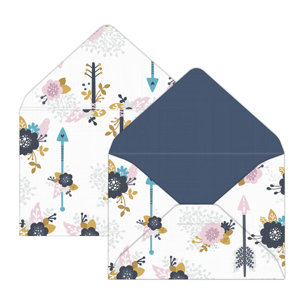 Blooming Arrows Mini Envelopes