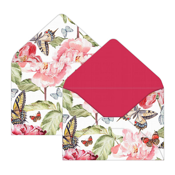 Butterfly Garden Mini Envelopes for Birthday Gifts