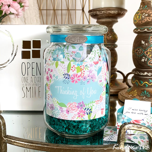 Fresh Cut Floral Thinking of You Jar