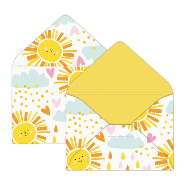 Fun in the Sun Mini Envelopes & Notes/Paper