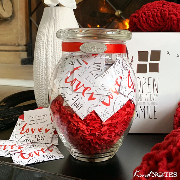 Infinite Love Jar of Notes