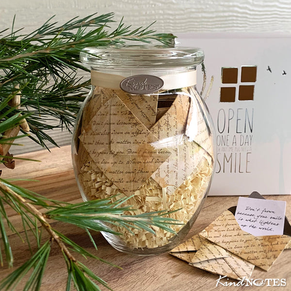Written Pieces Jar with INSPIRATIONAL Messages (Wholesale)