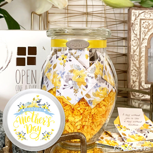 Happy Mother's Day Morning Sunshine Jar of Notes