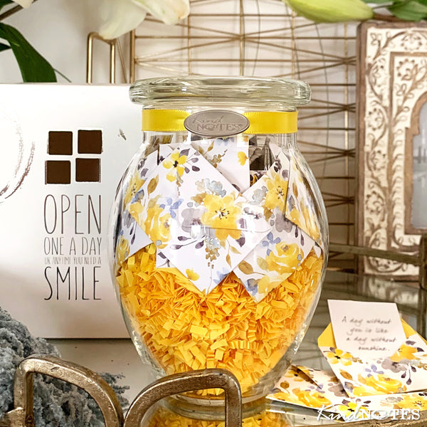 Morning Sunshine Jar of Notes